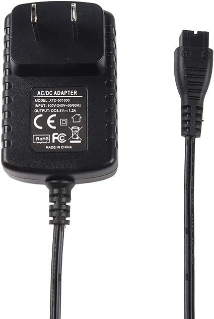 Molshine - Cable adaptador de corriente alterna para afeitadora ...