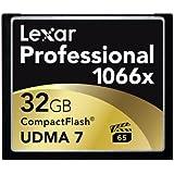 Lexar Professional 1066x 32GB CompactFlash card LCF32GCRBNA10662 - 2 Pack