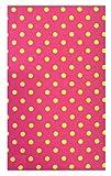Pink Polka Dot Cotton Waitstaff Organizer Guest Check Presenter for restaurant, Credit Card Holder, Check Book Holder / Cover, Server Book for Waitress with Money Pocket, Waiters Wallet, Server Pad. U