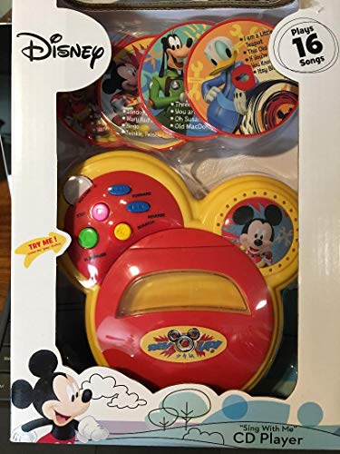 (ACA Disney Mickey Mouse Sing with Me CD Player)