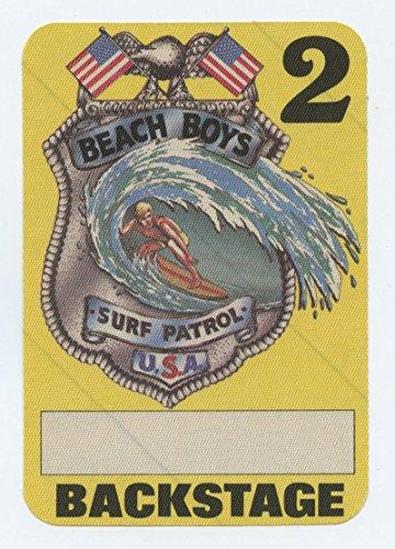 The Beach Boys Surf Patrol Tour 1984 Backstage pass (Tour Child Ticket)