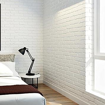 papel pintado paredes del fondo d de ladrillo blanco living sala dormitorio ladrillo fondo de patrn