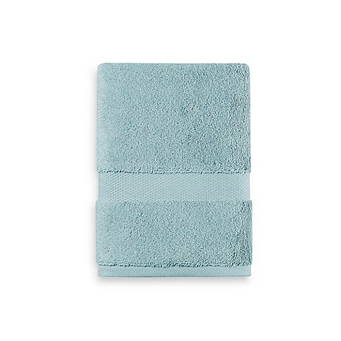 (Wamsutta 805 Turkish Cotton Hand Towel in Aqua - (30