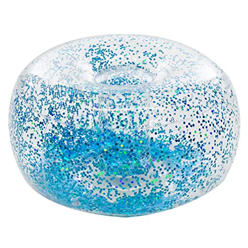 Inflatable Glitter Chair Ottoman - Chair Giant Inflatable