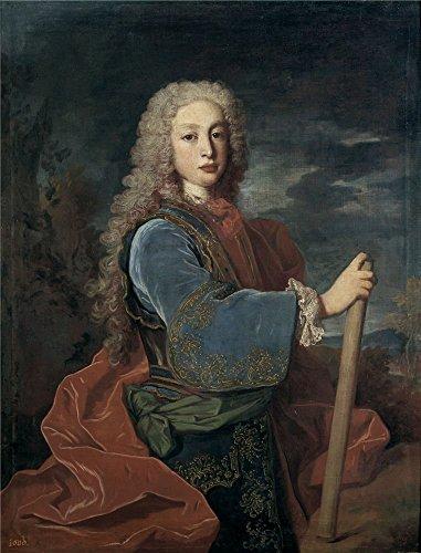 'Ranc Jean Luis I Rey De Espana 1724 ' Oil Painting, 18 X 24