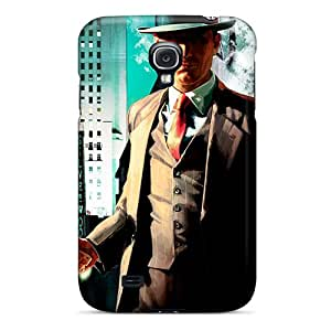 New Style Janehouse Hard Case Cover For Galaxy S4- La Noire 3