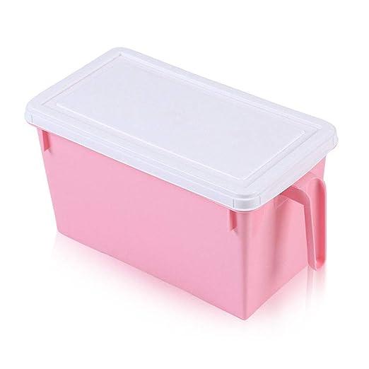 Cuatro colores de plástico accesorios caja de almacenamiento ...