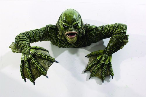 Creature Black Lagoon Grave Walker Halloween Prop Haunted House Garden Decor