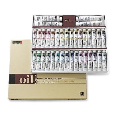 Oil Colour Paint Set Shinhan Professional 36 Colours 20ml Tube Artist Drawing by PONML