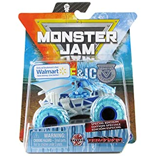 Monster Jam 2020 Fire & Ice Exclusive Dragonoid Ice 1:64 Scale Diecast by Spin Master