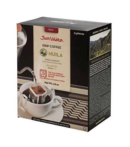 Juan Valdez Balanced Huila Drip Coffee, 50 Gram (Pack of 6) by Juan Valdez (Image #1)