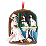 2018 Disney Sketchbook Mary Poppins Jolly Holiday Penguins Ornament
