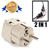 Best European schuko travel adapter