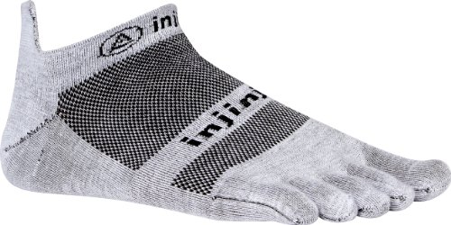 Injinji Men's Run Lightweight No Show Toesocks