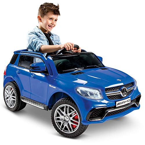 Huffy Mercedes Benz Kids Electric Battery Powered Ride On Car W/ Lights, Sounds & MP3 Player