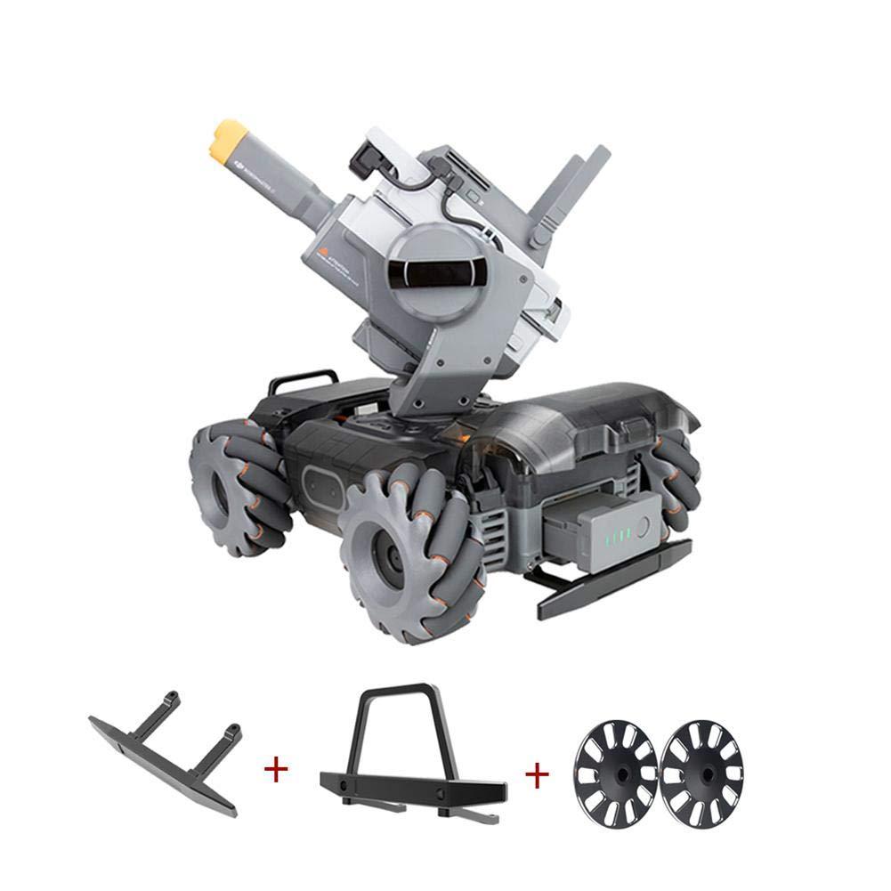 Rainai Schutzradsatz CNC Aluminiumlegierung Modifikation Zubeh/ör f/ür DJI RoboMaster S1 Frontschutz Sto/ßstange Heckschutz Sto/ßstange