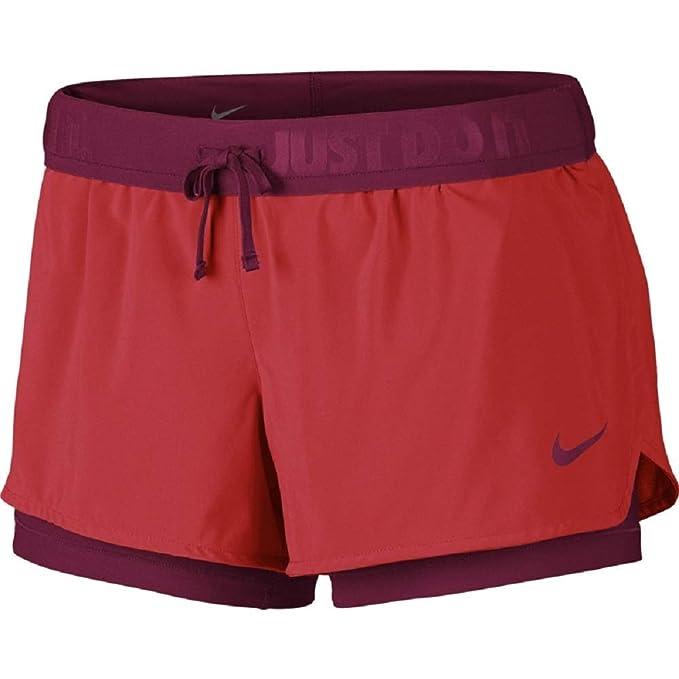 53a6a81aeafe Nike Full Flex 2 Pantaloncini da donna: Amazon.it: Abbigliamento