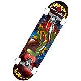 Punisher Skateboards Ranger 31-Inch Double Kick Concave Complete Skateboard