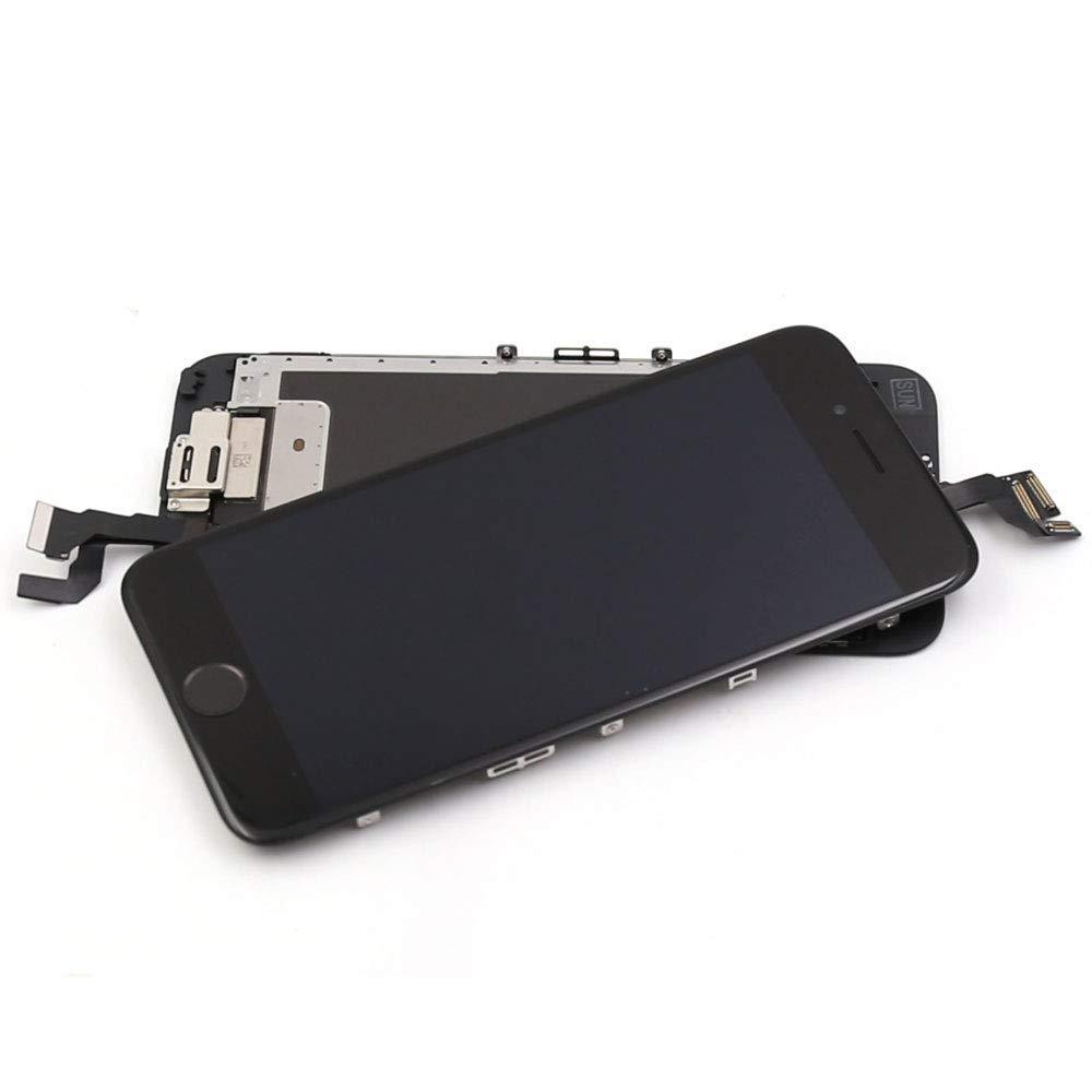 con Home Pulsante, Fotocamera, Sensore Flex Utensili Inclusi Touch Screen Digitizer Parti di Ricambio 4,7 Pollici Ibaye Display LCD Schermo per iPhone 6S Nero
