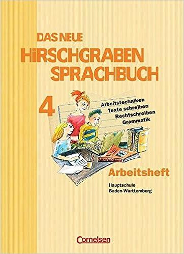 Das Neue Hirschgraben Sprachbuch Werkrealschule Baden Württemberg