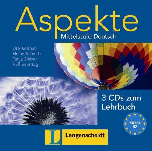 Aspekte 2: Audio-CDs zum Lehrbuch