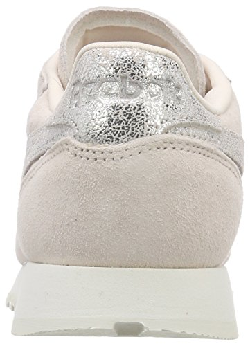 Silverchalk pale Classic Reebok Baskets Shimmer Rose Leather Pinkmatte q0RqfwT