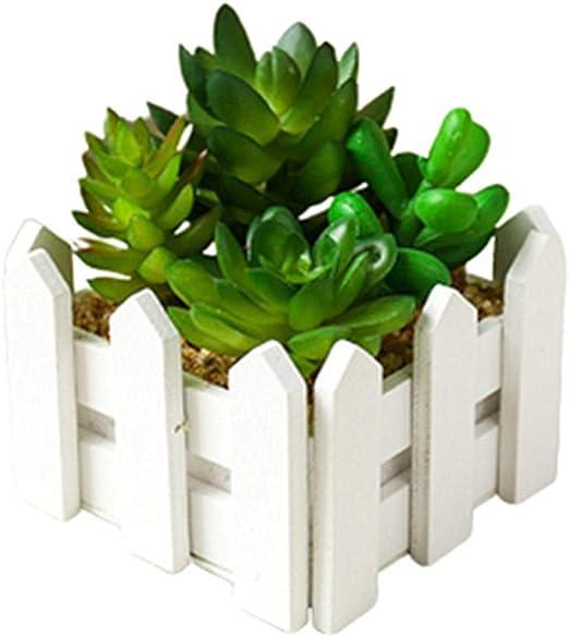 KUOZEN Fausse Plantes en Pot Plante en Pot Intérieur Table ...