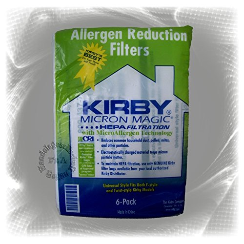 Kirby Allergen Reduction Filters, 204811 (6 ()