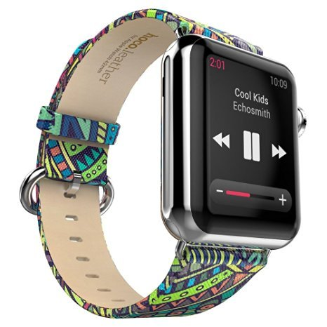 ialliance-for-apple-watch-iwatch-38-42mm-original-hoco-colorful-leather-band-strap-adapter-bohemia-3