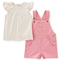 Kidlove Newborn Baby Girl Clothes Anchor Tops Polka Dot Briefs Sunsuit Outfit...