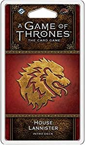A Game of Thrones House Lannister Intro Deck Card Game Card Game