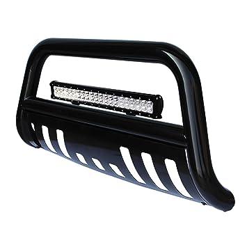 Dodge Ram Bull Bar >> Tuokiy Black Bull Bar Bumper Grille Guard For 09 17 Dodge Ram 1500 With 4d Lens 20inch 126w Led Light Bar Free Wiring Harness