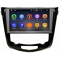 SYGAV Android 7.1.1 Nougat Car Stereo 2G RAM for 2014-2015 Nissan X-Trail Radio 10.2 Inch Touch Screen GPS Sat Navigation Audio FM AM LCD Monitor Head Unit