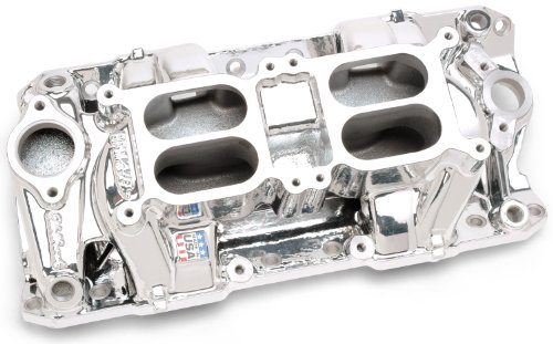 Edelbrock 75254 Performer RPM Air-Gap Dual Quad Intake Manifold