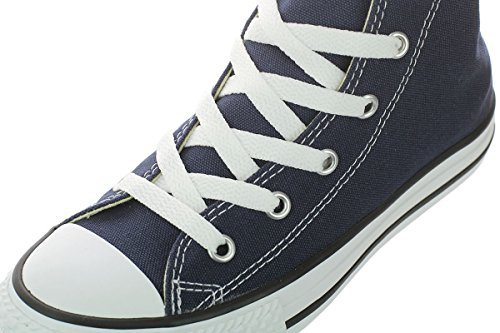Converse Kid's Chuck Taylor All Star High Top Shoe, navy, 2 M US Little Kid