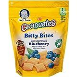 Gerber Graduates Bitty Bites, Blueberry, 4 Count, 2.50 Ounce