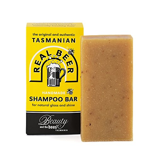 Real Beer Shampoo Bar from Tasmania Australia 100% - Honey Unpasteurized Liquid