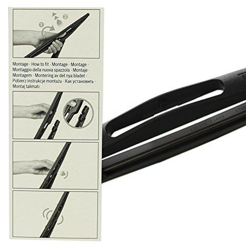Original Bosch Aerotwin Retrofit Limpiaparabrisas Maxxi4you hojas de delantera + trasera Juego completo: Amazon.es: Coche y moto