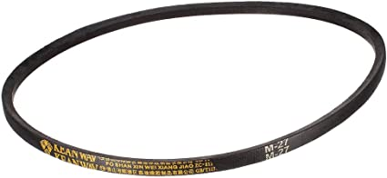 uxcell/® M19 Drive V-Belt Girth 19-inch Industrial Power Rubber Transmission Belt