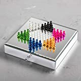 Elle Decor Elle Chinese Checkers Game, Mirror