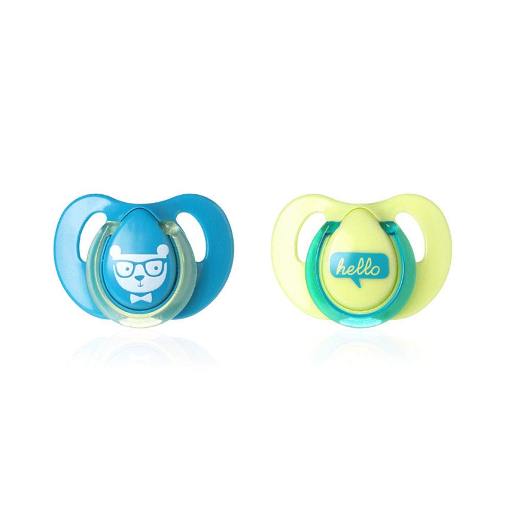 Boys Decorated soothers from Tommee Tippee Bpa Free Age 6-18m