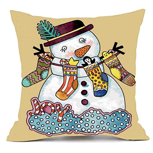 43cmx43cm Colorful Eyes Home Bed Sofa Decor Pillow Case Cover - 1