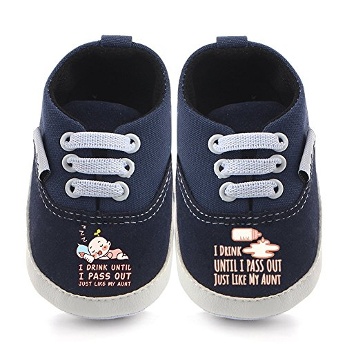 WALUCAN 32 Colors Printing Baby Boys Girls Anti-Slip First Walkers Shoes 0-24 Months
