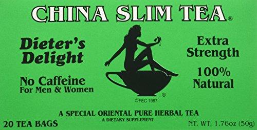 1 X China Slim Tea Extra Strength (20 Teabags)