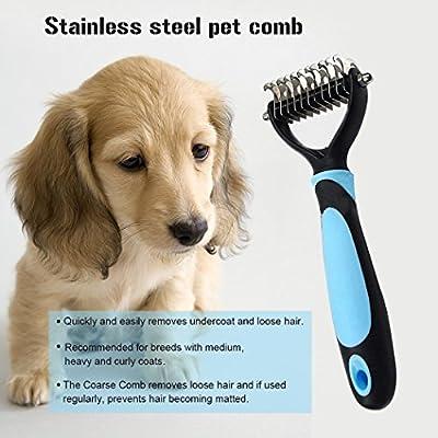 cozytek mascotas peine, cepillo, Pet Dematting peines y cepillo ...