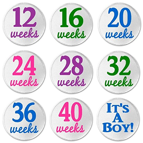 Set Of 9 Pregnancy Patches It's A Boy - 3