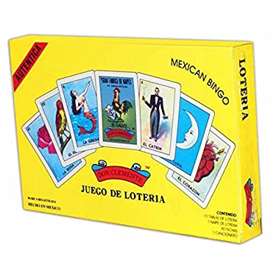 Don Clemente Authentic Loteria Card Game Gift Box Set: Toys & Games