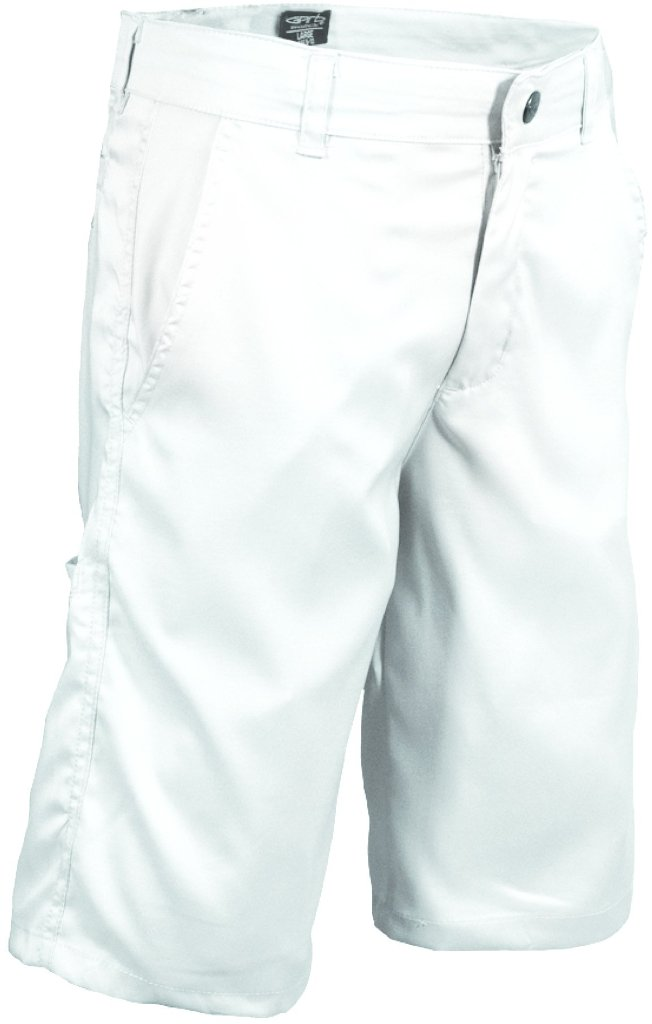 Garb Little Boys Zach Performance Golf Shorts Small White