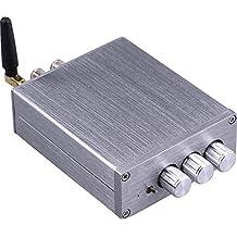 Yeeco® Hifi Mini Bluetooth Amplifier 50W+50W DC 12/24V Wireless Bluetooth Stereo Dual Channel Audio Receiver Power Amp Ampli for Sound Audio System