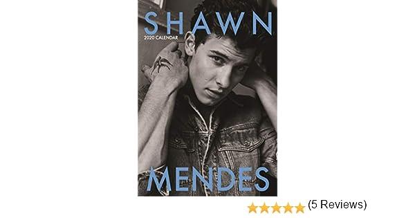 Calendario 2020 de Shawn Mendes: Amazon.es: Oficina y papelería